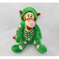 Tigger CUB DISNEY STORE disguised as green halloween skeleton 24 cm