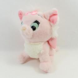 Peluche chat Marie DISNEY Mattel Les Aristochats vintage rose blanc 1992