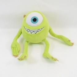 Peluche Bob Razowski DISNEY Monstres et Cie vert 22 cm