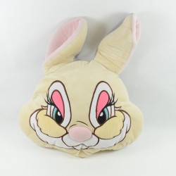 Gran cojín reversible Pan Pan DISNEY STORE Miss Bunny Bambi 35 cm