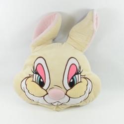 Grand coussin réversible Pan Pan DISNEY STORE Miss Bunny Bambi 35 cm