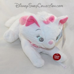 Animated cuddle Marie cat DISNEYLAND PARIS The music aristochats and Disney nightlight 33 cm