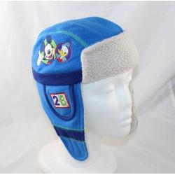 Cap chapka boy DISNEY STORE Mickey Donald Dingo Pluto azul 2-3 años