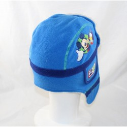 Cap chapka boy DISNEY STORE Mickey Donald Dingo Pluto blue 2-3 years