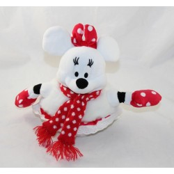 Peluche Minnie DISNEYLAND PARIS Snowman Christmas 18 cm