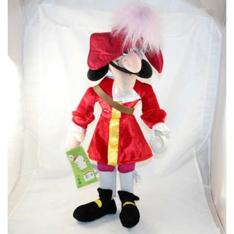 Plush Captain Hook DISNEY STORE Peter Pan Naughty Disney 54cm