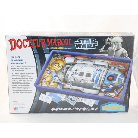 Game Doctor Maboul HASBRO Star Wars edition R2-D2 sound effects