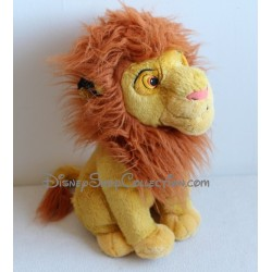 Peluche lion Simba DISNEYLAND Le Roi Lion adulte 34 cm