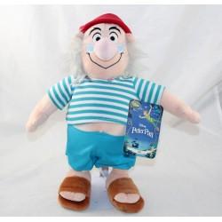 Peluche Mr Mouche DISNEY STORE Peter Pan pirata 32 cm