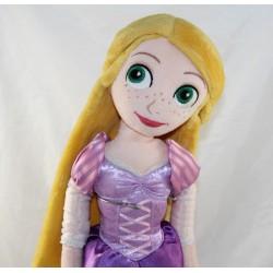 Plush doll Rapunzel DISNEY STORE purple princess dress 50 cm
