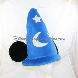 Mickey DISNEYLAND PARIS Fantasia Blue Star Hat and Disney Moon 35 cm