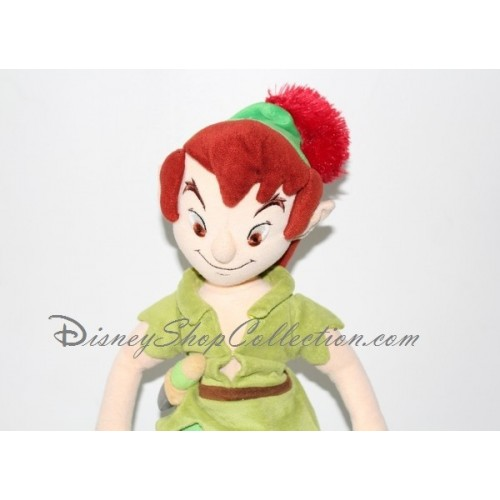 poup e peluche peter pan disney store 55 cm. Black Bedroom Furniture Sets. Home Design Ideas