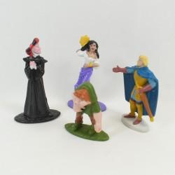 Lot de 4 figurines Esmeralda DISNEY Le Bossu de Notre Dame