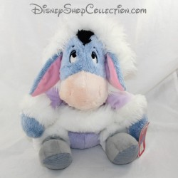 Peluche Bourriquet DISNEY STORE winter purple coat 29 cm