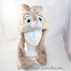 Bonnet Miss Bunny lapin DISNEYLAND PARIS Oreilles articulées beige Disney