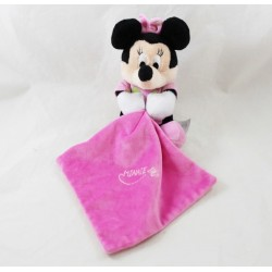 Doudou handkerchief Minnie DISNEY NICOTOY pink luminescent moon star