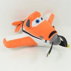 Avión de felpa de Dusty NICOTOY aviones de Disney Orange 20 cm