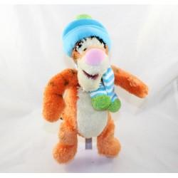Tigger WITHer DISNEY STORE gorra y bufanda verde azul 30 cm