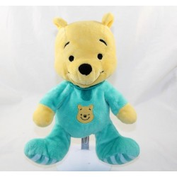 Winnie cub bear DISNEY NICOTOY pyjama green frog 25 cm