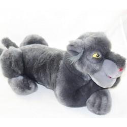 Peluche Bagheera DISNEYLAND PARIS The book of the grey panther jungle 38 cm