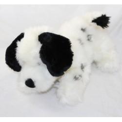 Peluche chien Dalmatien DISNEY STORE Les 101 Dalmatiens collier rouge 17 cm