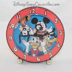 Mickey clock and his friends DISNEY round grimaces 15 cm