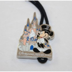 Porta chiave Mickey DISNEYLAND RESORT PARIS 15 anniversario metallo stagno