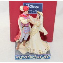 Figura Blancanieves y su príncipe DISNEY TRADITIONS Jim Shore Showcase boda Enesco resina