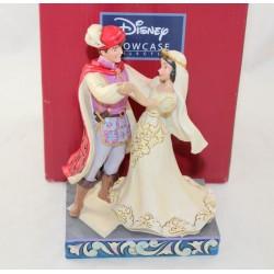 Figura Blancanieves y su príncipe DISNEY TRADITIONS Jim Shore Showcase boda Enesco resina