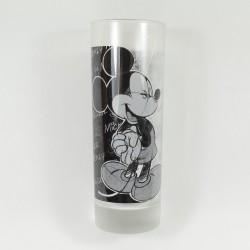 Verre haut Mickey DISNEYLAND RESORT PARIS noir et blanc 17 cm