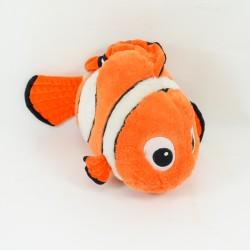 Peluche poisson nemo DISNEYLAND PARIS Le Monde de Nemo poisson clown 34 cm