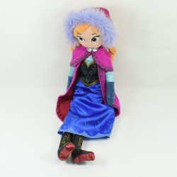 Muñeca de felpa Anna DISNEYPARKS la reina de la nieve congelada Disney 52 cm