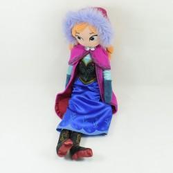 Poupée peluche Anna DISNEYSTORE La Reine des Neiges Frozen Disney 52 cm