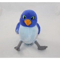 Peluche Mia bird DISNEY STORE Princess Sofia blue bird Disney Junior 20 cm
