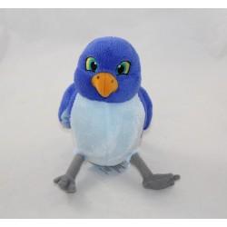 Peluche Mia oiseau DISNEY STORE Princesse Sofia oiseau bleu Disney Junior 20 cm