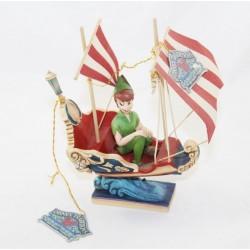 Figurine Peter Pan DISNEY TRADITIONS bateau Peter Pan's Flight 17 cm