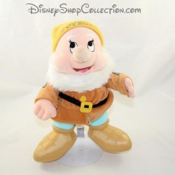 Happy dwarf with THE DISNEYLAND PARIS Snow White and the 7 Dwarfs Disney 27 cm