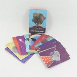 Dumbo DISNEY gioco di carte di memoria gioco 2-in-1 film Dumbo