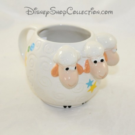 Mug embossed sheep DISNEY Toy Story the shepherdess cup 3D 10 cm