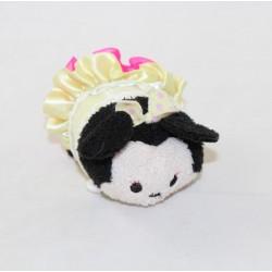 Tsum Tsum Minnie DISNEY tutu rosa pizzo giallo mini peluche 9 cm