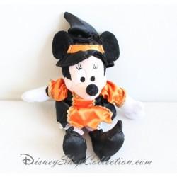 Peluche Minnie Halloween DISNEYLAND PARIS déguisée en sorcière 25 cm