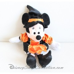 Plush Minnie DISNEYLAND PARIS Halloween dressed as a witch 25 cm