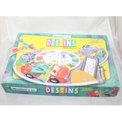 Destinys board game at Monstropolis DISNEY PIXAR Monsters - Co.