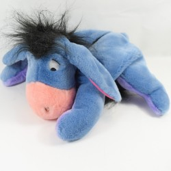 Pyjamas plush donkey Bourriquet DISNEY JEMINI purple blue 40 cm