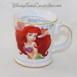 Mug Ariel DISNEY STORE The Little Mermaid Signature Ceramic Cup 10 cm