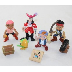 Set of Jack figurines and DISNEY JUNIOR pirates with accessories