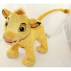 Plüsch interactive Löwe Simba DISNEY HASBRO singt und bewegt sich auf Französisch 37 cm