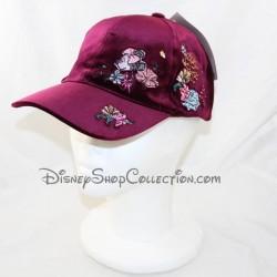 DISNEYLAND PARIS Minnie Parisienne Burgundy adult-sized Disney velvet cap