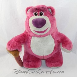 Peluche ours Lotso DISNEY Toy Story rose canne 23 cm
