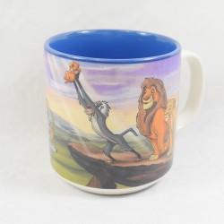 Mug The Lion King DISNEY STORE mug scene Mufasa Sarabi Simba and Rafiki 10 cm